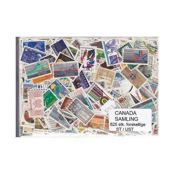 Canada Samling St/ust. 625 forskellige