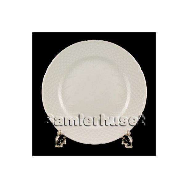 Elegance Hvid Kagetallerken 15½ cm.