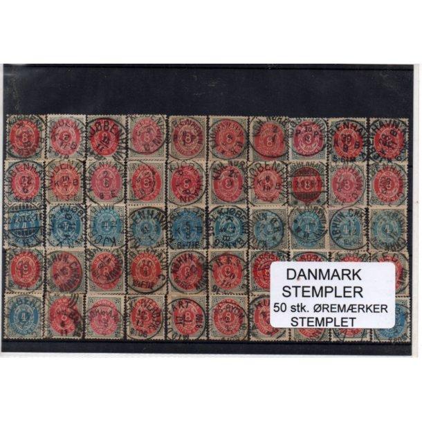 Danmark Stempler - 50 Stk. Øremærker -
